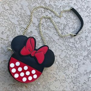 DISNEY x LOUNGEFLY Minnie Mouse Purse Bag